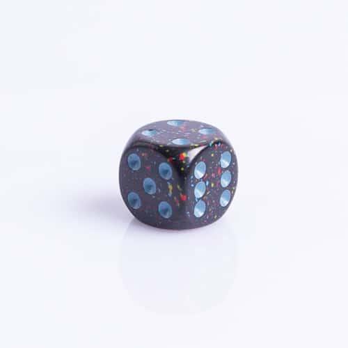 6 Vlakken Dobbelsteen Blue Stars™ 16mm dobbelstenen kopen