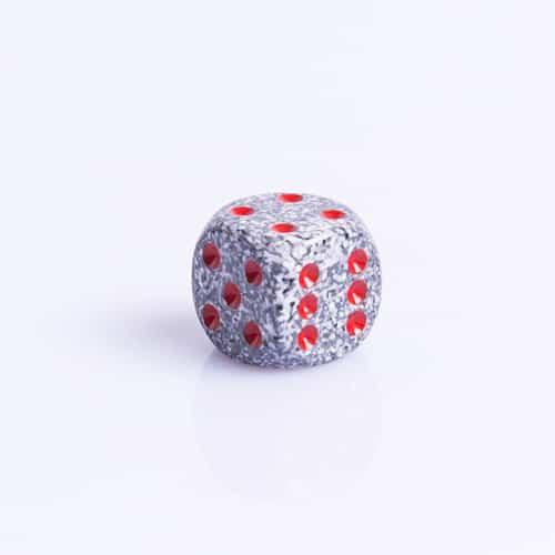 6 Vlakken Dobbelsteen Granite™ 16mm
