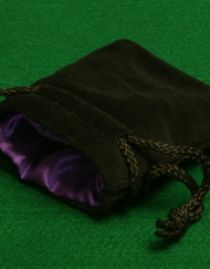 Dobbelstenenzakje Dice Bag Paars Small
