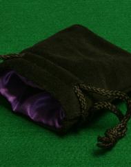 Dobbelstenenzakje Dice Bag Paars Small