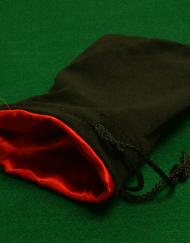 Dobbelstenenzak Dice Bag Rood Large