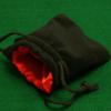 Dobbelstenenzakje Dice Bag Rood Small