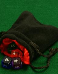 Dobbelstenenzakje Dice Bag Rood Small kopen