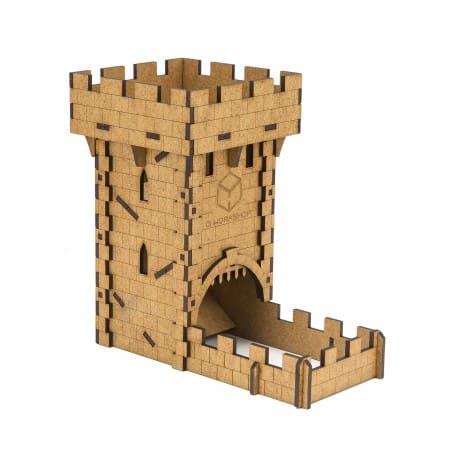 Medieval Dice Tower Q-Workshop