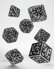 Polydice Set Q-Workshop Forest White & Black