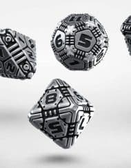 Polydice Set Q-Workshop Metal Tech Dice