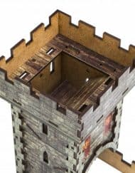 Color Medieval Dice Tower Q-Workshop