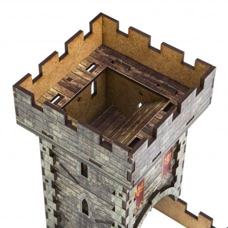 Color Medieval Dice Tower Q-Workshop