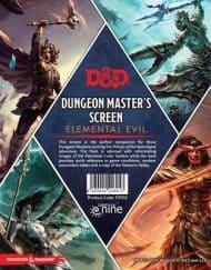 Elemental Evil DM Screen 5.0