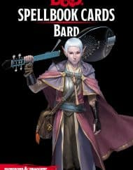 Spellbook Cards Bard Dungeons and Dragons