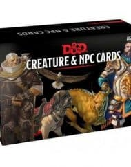 Spellbook Cards Creature and NPC Cards Dungeons and Dragons
