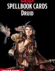 Spellbook Cards Druid Dungeons and Dragons
