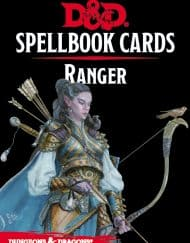 Spellbook Cards Ranger Dungeons and Dragons 5.0