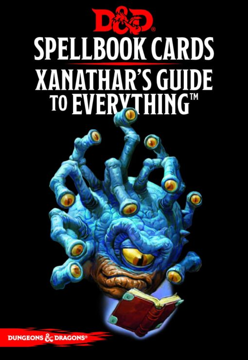 Spellbook Cards Xanathar's Guide Dungeons and Dragons