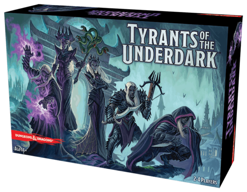 Tyrants of the Underdark boardgame