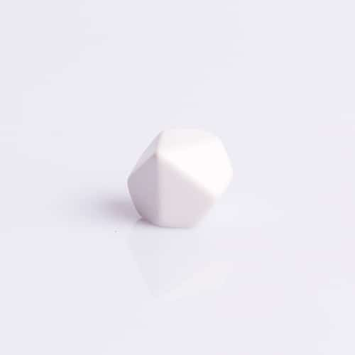 10 Vlakken Dobbelsteen Blanco 16mm