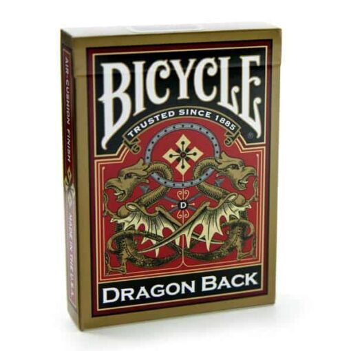 Bicycle Playing cards Gold Dragon Back