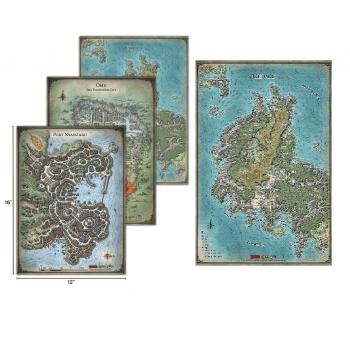 Playmat Tomb of Annihilation Map Set D&D