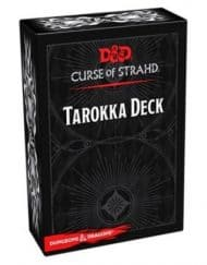 Spellbook Cards Curse of Strahd Tarokka Deck