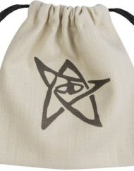 Dice Bag Call of Cthulhu Beige Black Q-Workshop