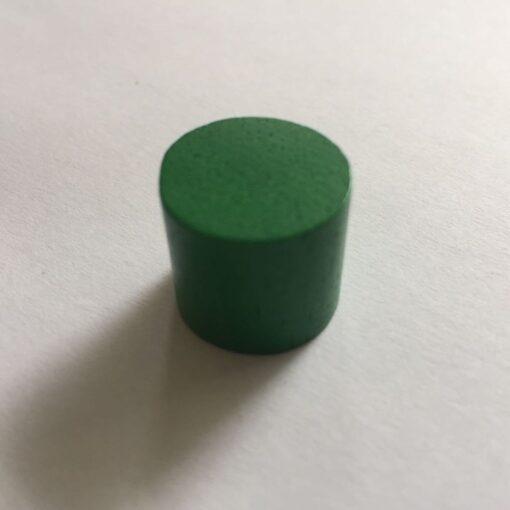 Houten Pion Groen 16mm per stuk (Speelstuk / Tokkens)