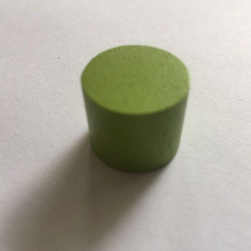 Houten Pion Licht Groen 16mm per stuk (Speelstuk / Tokkens)