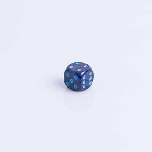 6 Vlakken Dobbelsteen Cobalt™ 16mm
