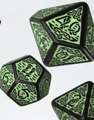 Polydice 7 Celtic Black Green Q-Workshop kopen