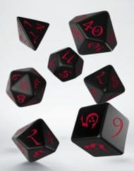 Polydice Set Q-Workshop Black Red
