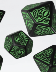 Polydice Set Q-Workshop Call of Cthulhu 7th Edition Black Green kopen