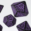 Polydice Set Q-Workshop Call of Cthulhu Horror on the Orient Express Black Purple kopen