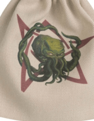 Dice Bag Call of Cthulhu Beige Multicolor Q-Workshop kopen