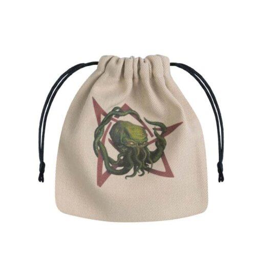 Dice Bag Call of Cthulhu Beige Multicolor Q-Workshop