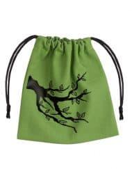 Dice Bag Ent Green Black Q-Workshop