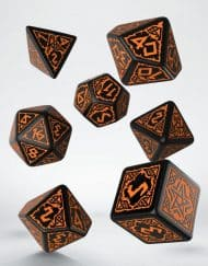 Pathfinder Polydice Dice Set Hell's Vengeance
