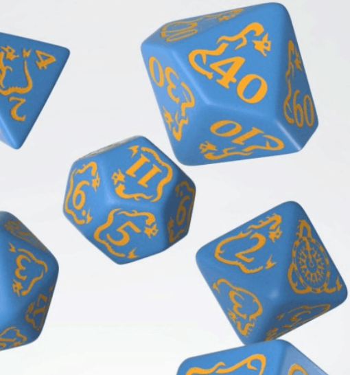 Pathfinder Polydice Dice Set Ruins of Azlant