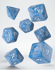 Polydice Set Q-Workshop Elvish Glacier White