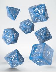 Polydice Set Q-Workshop Elvish Glacier White