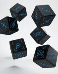 6 Vlakken Ingress Resistance Dice Q-Workshop Set van 6