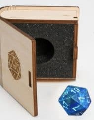 20 Vlakken Dice Gemstone Collectors Dice - Lapislazuli 16mm