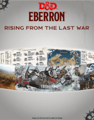 Eberron Dungeon's Master's Screen