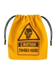 Dice Bag Zombie Yellow Black Q-Workshop