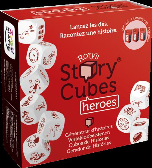 Rory's Story Cubes Heroes Verhaalddobbelstenen