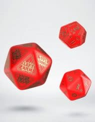 Q-Workshop Runequest Expantion Dice Red Gold