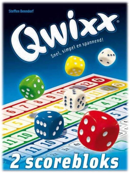 Qwixx Blocks extra scoreblocks