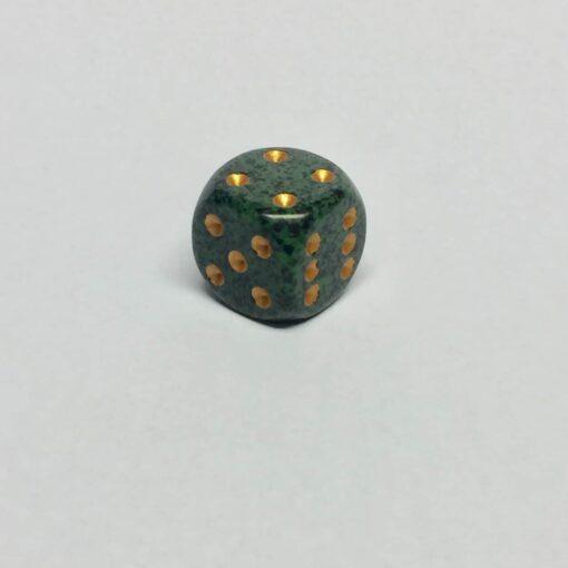 6 Vlakken Dobbelsteen Golden Recon™ 16mm