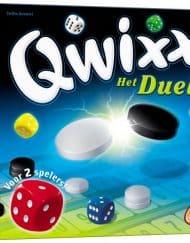 Qwixx Het Duel Dobbelspel voor twee spelers