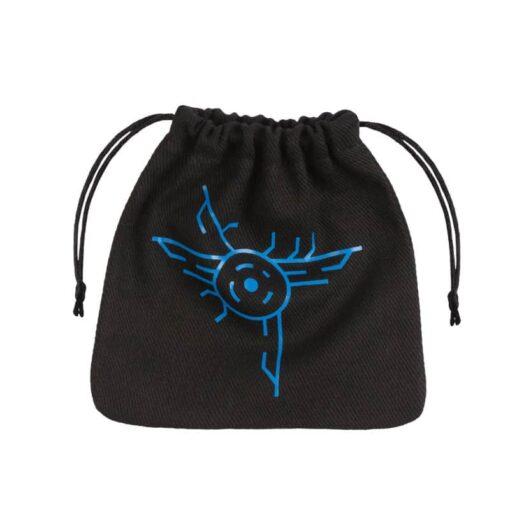 Dice Bag Galactic Black Blue Dice Bag Q-Workshop