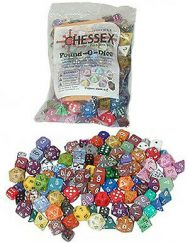 Chessex Pound-O-Dice inclusief 1 set Polydice