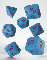 Polydice Set Q-Workshop Classic Runic Blue Red